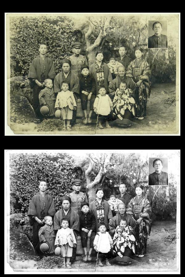 写真の復元